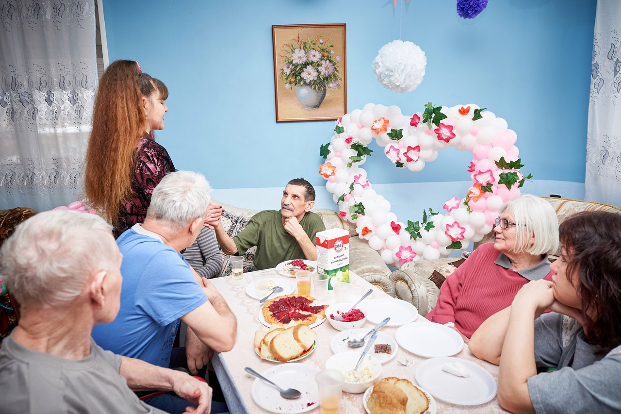 Комфортный пансионат для пожилых людей
