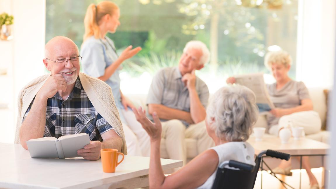 Комфортабельные частные пансионаты для пожилого человека